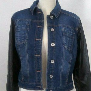 Cato Womans Denim Jacket Size Small